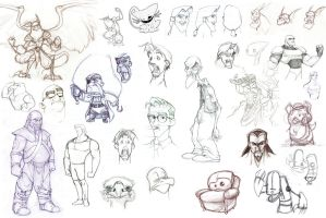 Character Compilation by DreZX