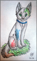 Blotch - traditional commision by Afna2ooo
