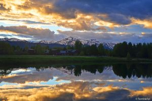 Teton Sunset by TerribleTer