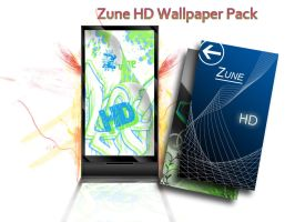 Zune HD Wallpaper Pack by ducky108