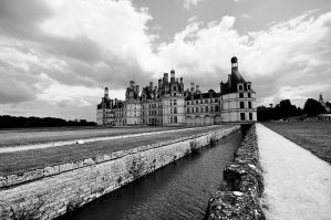 Chambord Castle by hrxfab