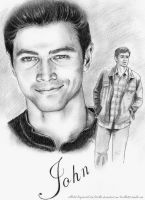 JIB5 Artproject: (young) John Winchester by Sillie