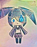 BRS PAPER CARFT DRAWING by nadiki