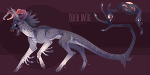 SPOOPY Auction: Death Rattle Ramuken (closed) by faios