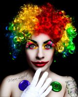 Clown. by MariaLawliet