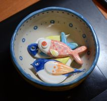 Ceramic stuffs by pikaole