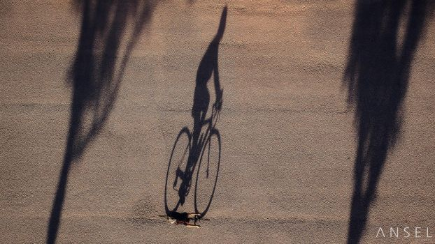 The Cyclist by Draken413o