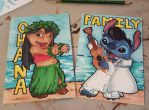Lilo and Stitch by Cheekydesignz