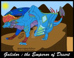 Galidor:The Emperor of Desert by SkulblakaSaphira