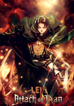 Levi Attack on Titan by YataMirror