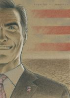 Mitt Romney - hope for millionaires by Viviane-ch