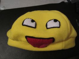Awesome Face Hat by colbyjackchz