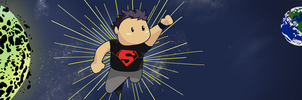 Superboy by spot1the2dog3