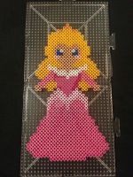 Aurora Perler Bead Figure by AshMoonDesigns