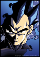 Vegeta Vector by Steel-Warrior