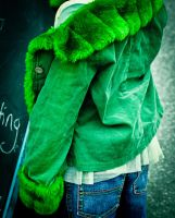 The Green Jacket by myrnajacobs