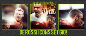 Daniele De rossi Icons Set by GioGXF