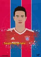 Thiago Alcantara Cartoon by SemihAydogdu