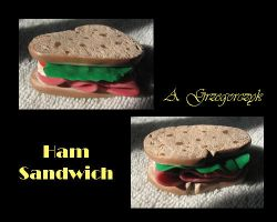 Ham Sandwich. by floobity