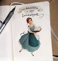 Notes and sketches | Belle by SimonaBonafiniDA