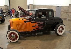 1932 Ford Coupe by Razgar