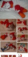 Sleeping hot rod Jenny plush by teenagerobotfan777