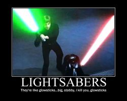 Glow-sabers by Fedorian-Class