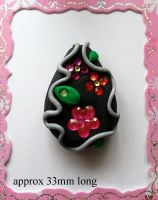 Polymer Clay Beads 64 by snowskin