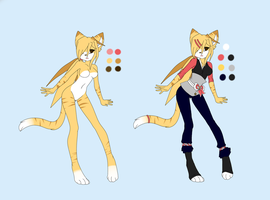 -REF- Melody the Chingling by Crystalized-Blue