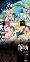 'pre-oder' Rukh : Magi fan-artbook by mixed-blessing