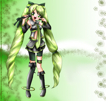 Gift Art: Vocaloid Character by Hero-of-Awesome