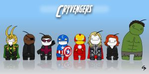 Cryvengers by ShadowCat451