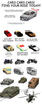 3D Vehicles for clip studio paint (18) by ChazzVC