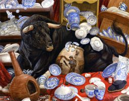 Cracked Matador by ChrisDunn