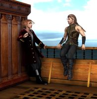 Seafaring Lads by Goldenthrush