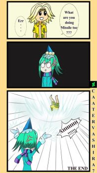 MISSILE TOE X BANANA LAUNCHER #2 The end  by Castervashira77