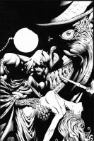 DARK KNIGHT by knockmesilly