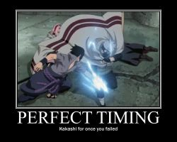 Kakashi's Perfect Timing by Alice-LaCasse