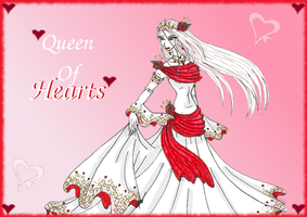 Queen of Hearts by HumanStick