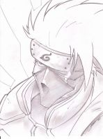 Kakashi Sketch Shot by StevenSanchez