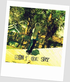 Don't be shy by WinterAllusion