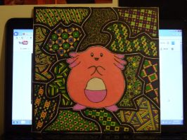 Sharpie Chansey by meralies