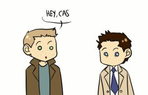 SPN - Personal space issues by misi-chan