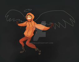 Kennyyyy - Chalk Wings by Mormoka