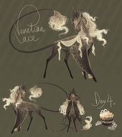 advalentine's calendar 04: venetian lace by hawberries