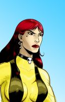 Silk Spectre WatchMen Series by Thuddleston