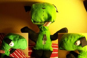 Gir Plushie: 3 views of meh by iwantcandy2