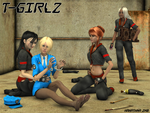 T-Girlz by Hahathna
