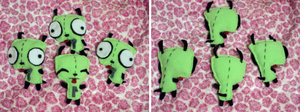 Mini Gir Plushies by Fallenpeach