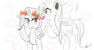 Flarity for misaki by MrsCurlyStyles